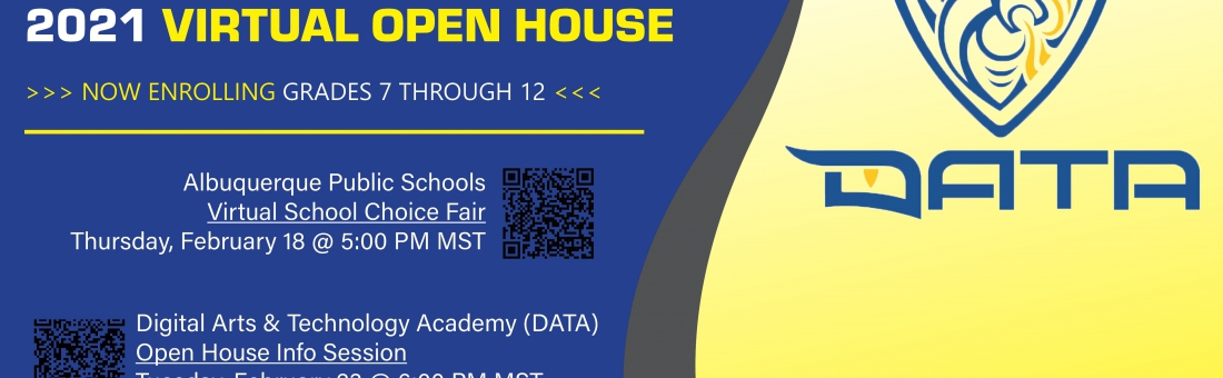 DATA VIRTUAL OPEN HOUSE INFO SESSION