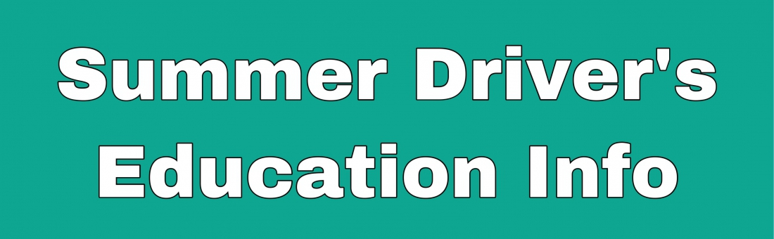 DATA Summer School – Driver's Ed