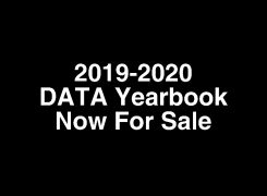 2019-2020 DATA Yearbook NOW For Sale