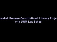 Marshall Brennan Constitutional Literacy Project