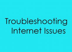 Troubleshooting Internet Issues