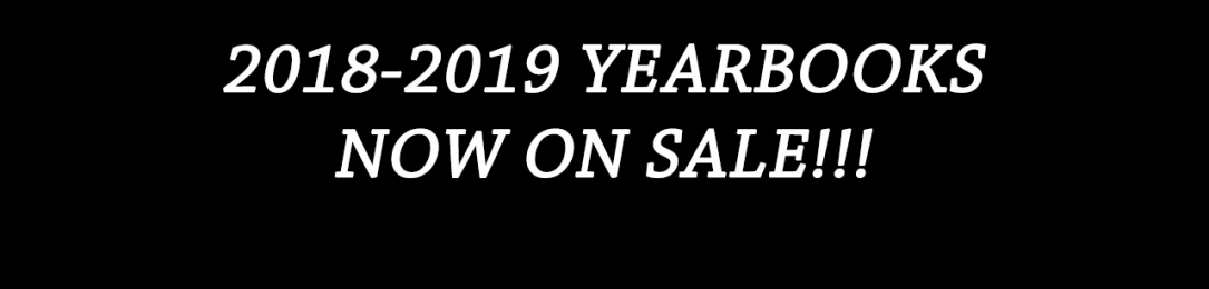 2018-2019 Yearbooks NOW ON SALE!!