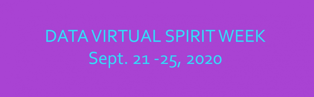 DATA Virtual Spirit Week – 9/21-9/25