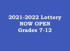 2021-2022 Lottery Now Open!
