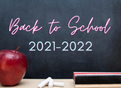 Back to School 2021-2022 Announcements